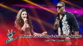 Marta Carvalho e Anselmo Ralph - Let me love you (Mario)   Gala Final   The Voice Portugal