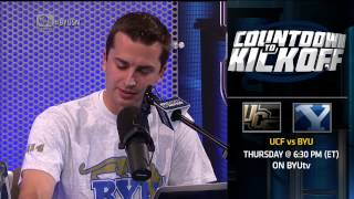 """BYU Sports Nation """"In a Minute"""" 