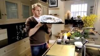 Gordon Ramsay Salmon baked with Herbs   Caramelised Lemons   YouTube