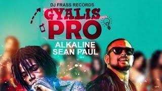 Alkaline & Sean Paul - Gyalis Pro (Crazy Glue Riddim) [Lyrics]