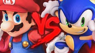 Mario VS. Sonic 2 | Duelo de Titãs Part. Dukrl