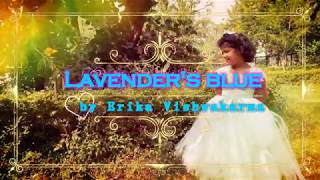 Lavender's Blue Dilly Dilly (Cinderella) Cover By little Girl Erika Vishwakarma