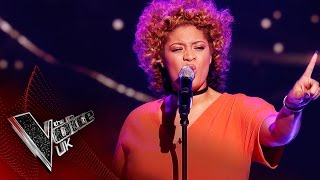 Chantelle Jackson performs 'Don't Let Go by': Blind Auditions 4 | The Voice UK 2017
