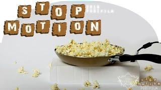 STOP MOTION | Special milk popcorn | 스톱모션 [HD] 2016