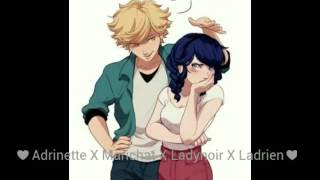 ♥Adrien y Marinette/Ladybug y Chat Noir//BAD BLOOD//♥