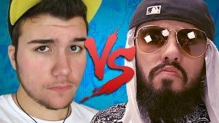 Keyblade VS Mussoumano | Batalha de Youtubers (CC ESPAÑOL)