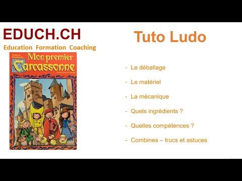Mon premier Carcassone Combines Trucs et Astuces Tutos Ludos Educh.ch