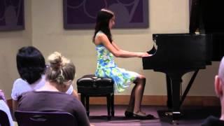 Shefali B. student of Alex Mezeritski performs  Tarantella by Beaumont