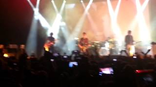 noel gallagher's high flying birds in the heat of the moment live @fabrique Milan 14/03/15