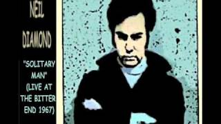 Neil Diamond - Solitary Man (Live 1967 version with Lyrics)