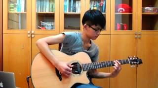 Ben E. King - Stand by me (acoustic guitar solo)