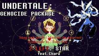 Star Man on the Internet Undertale Genocide Package Cover
