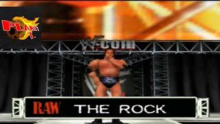 WWF Wrestlemania 2000 The Rock Entrance and Finisher