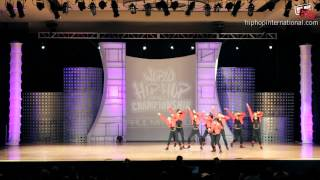 Bubblegum (New Zealand) at World Hip Hop Dance Championship Prelims 2012 (Junior)