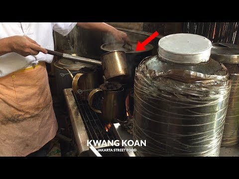 Download Video TERLARIS DAN TERVIRAL !! KOPI JHONY TONGKRONGAN HOTMAN PARIS | JAKARTA STREET FOOD #246