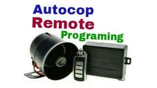 Autocop Remote Programming