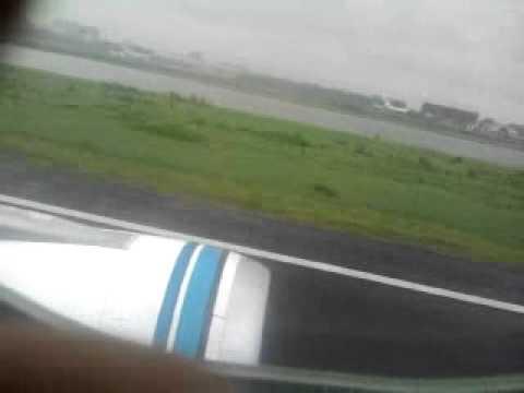 Plane landing – Dhaka