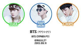 BTS (방탄소년단) - Cypher PT.1 [Lyrics Han|Rom|Eng]