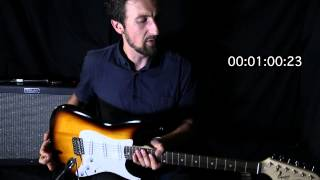 FENDER SQUIER BULLET SSS STRAT - 60 SECOND REVIEW