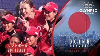 How an American softball star found a place in Japan's national league | Going Olympic