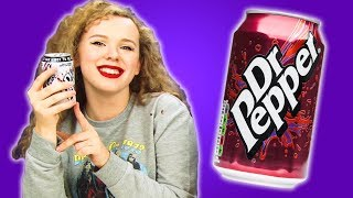 Irish People Taste Test Dr Pepper