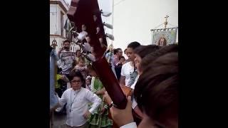 El coro del rociito cantando en el rosarito 2016