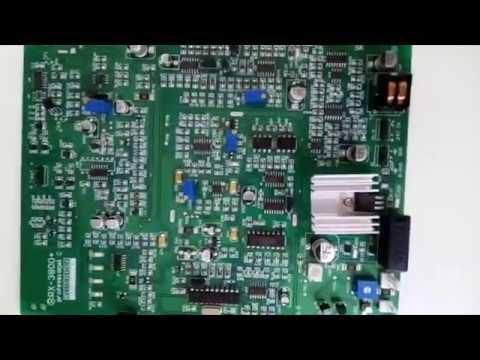 Par de Placas RX/TX Antena Antifurto RF 8,2 MHz