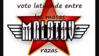 molotov voto latino (letra)