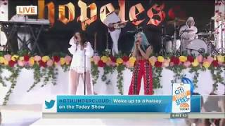 Halsey ft. Lauren Jauregui - Strangers (Live on Today Show)
