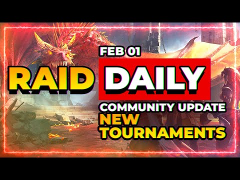 RAID Daily Feb 1! | GameStop Madness & Game Wrap-Up!