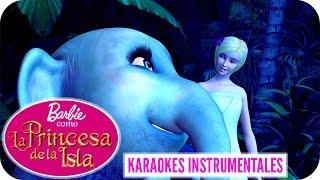 En Mis Brazos | Karaoke Instrumental | Barbie™ como La Princesa de la Isla