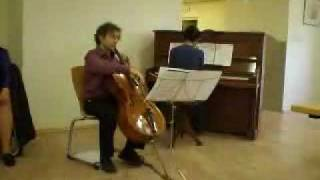 Habanera from Carmen by Bizet - Jonathan Flaksman, Cello & Won Choi, Piano