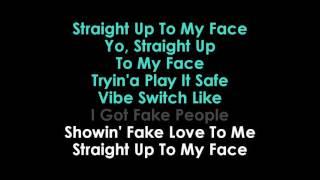 Drake  Fake Love karaoke | GOLDEN KARAOKE