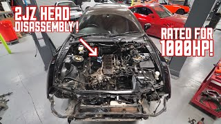 Taking Apart the 2JZ and Rebuilding it for 1000HP! width=