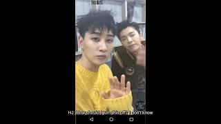 [ENG SUB] HD 170802 Donghae & Eunhyuk IG live - BTS @ Nylon Photoshoot