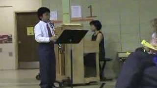 Inje's clarinet solo