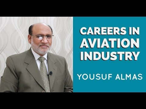 Careers in Aviation Industry | Yousuf Almas | Career Counselor |