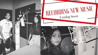 Tuesday's With Tyra D VLOG 10- Recording New Music!!