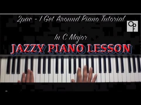 2pac I Get Around Piano Tutorial Jazzy Chords Chordify