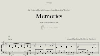 """Memories  -   Love Theme of the Motion Picture """"Top Gun"""""""