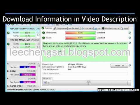 Hard Disk Sentinel Pro v4.00 Build 5237 FinaL (Free) Full Version Download