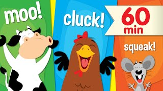 Animal Sounds Songs | + More Super Simple Songs for Kids