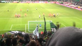 Sporting vs V. Setúbal 05/10/2013 pênalti