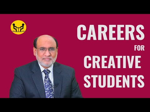 Careers for Creative Students | Yousuf Almas | Career Counselor