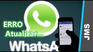 Erro de Espaço Atualizando o WhatsApp