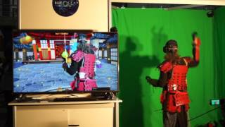 rAage Expo 2016 Johannesburg - Blue Ocean VR use Vitrual Reality to put the Samurai in the game