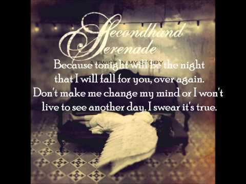 Fall For You Secondhand Serenade Lyrics Chords Chordify