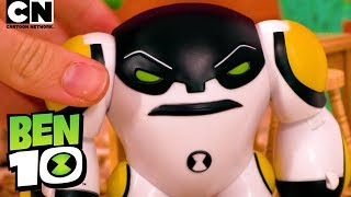 Ben 10 CANNONBOLT in Cookout! | Ben 10 Toys | Cartoon Network