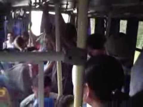 Nicaragua – Novembre 2011 – Bus de San Miguelito a El Rama