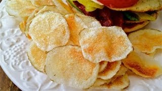 MICROWONK - Microwave Potato Chips Recipe